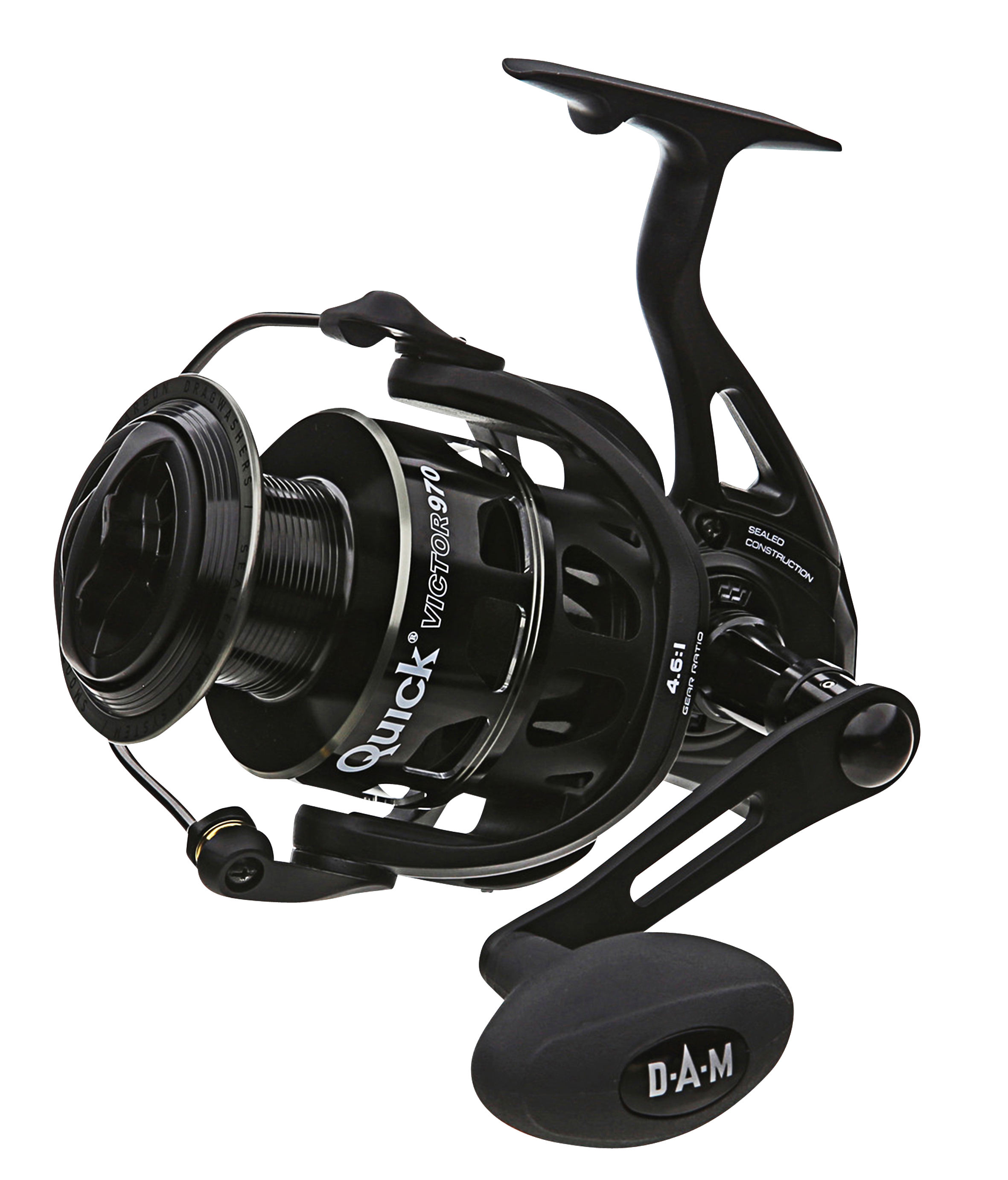 D.A.M. Quick Victor Fixed Spool Reel - Glasgow Angling Centre