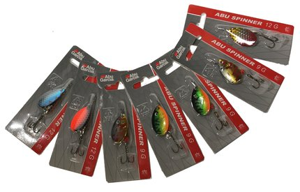Abu Garcia Assorted Bulk Lure Selection