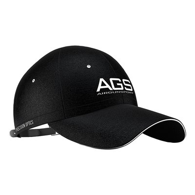 AGS Black AGS Cap with Embroidered Logo (One Size)