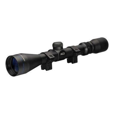 AGS VMX 3-9 X 40 Riflescope with Mounts