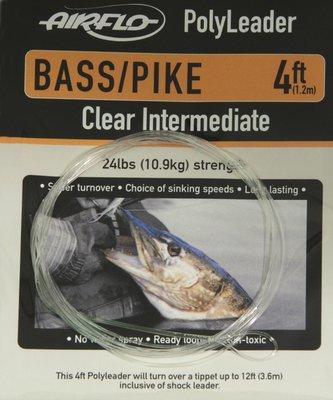 Airflo Polyleader Bass/ Pike 4' Length