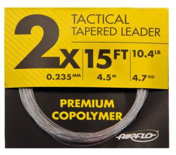 Airflo HT Tactical Tapered Leader 15ft