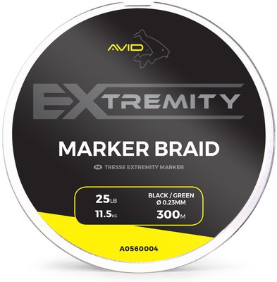 Avid Carp Extremity 25lb 300m Marker Braid