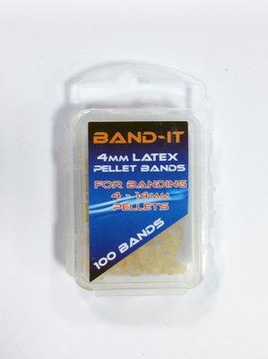Band-It 4.0mm I.D. Latex Pellet Bands (4-12mm)