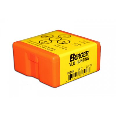 Berger 6mm .243 87 Grain Match Hunting VLD (100 Box)
