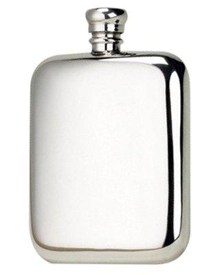 Bisley Kidney Pewter Flask