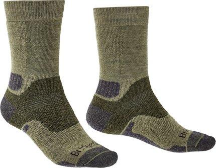 Bridgedale HIKE Midweight Merino Performance Original Mens Green Socks