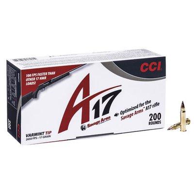 CCI .17 HMR 17 Grain Varmint Tip A17 (200 Box)