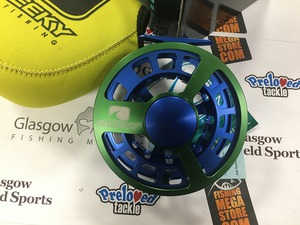 Preloved Cheeky Fly Fishing Thrash 475 Blue/Green #10/12 Salmon Fly Reel (Boxed) - As New