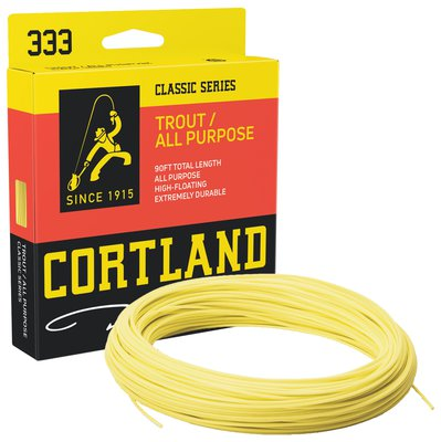 Cortland Classic Trout All Purpose Fly Lines - Yellow