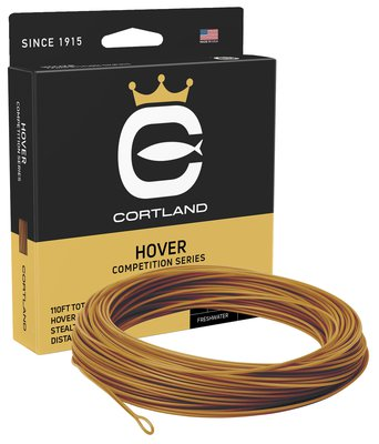 Cortland Competition Hover Fly Lines - Light Brown