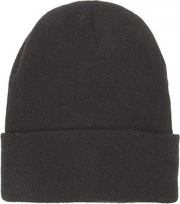 Crab Busters Kids Black Beanie