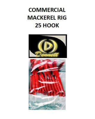 Dennett 25 Hook Commercial Mackerel Rig