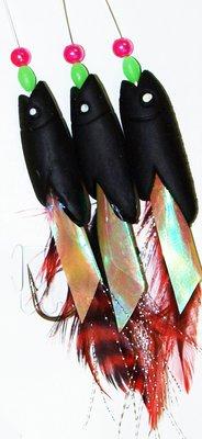 Dennett 3 Hook Hokkai Black/Red