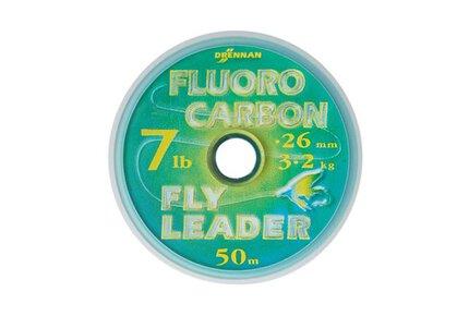 Drennan Flourocarbon Fly Leader 50m Spool
