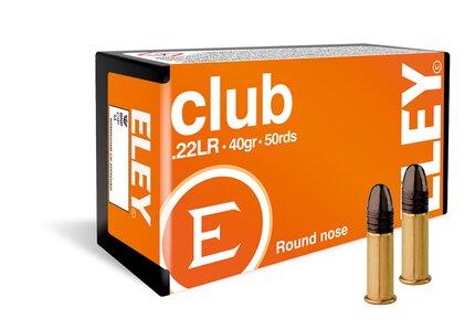Eley .22LR Eley Club (50 Box)