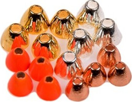 Eumer Tungsten Tube Fly Coneheads