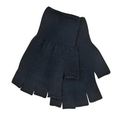 Extremities Thinny Fingerless Gloves Black