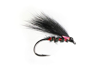 Fario Fly Red Holo Ice Dub Cormorant