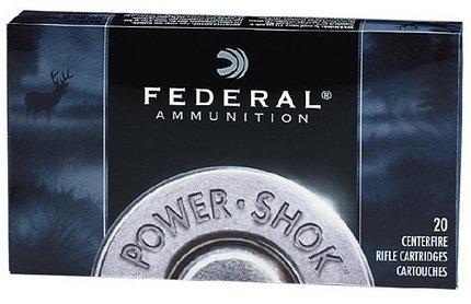 Federal Premium Ammunition Power Shok .222 Rem 50g X 20