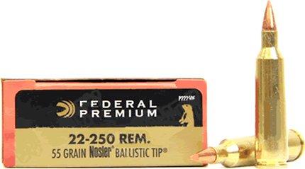 Federal Vit-Shok .22-250 55 Grain Nosler Ballistic Tip (20 Box)