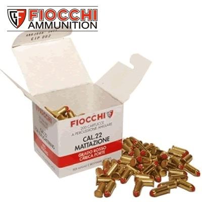 Fiocchi .22 Dummy Launcher Extra Powerful Blanks (200 Box)