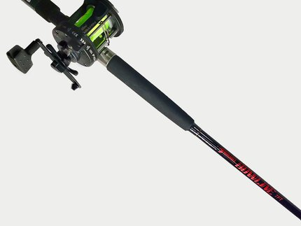 Fisheagle Bowline Boat Combo 7ft 20-30lb 2pc Boat Rod + 300L Multiplier with Mono