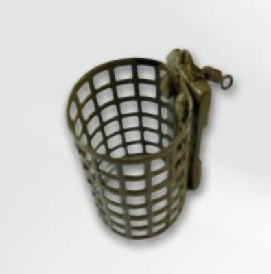 Fladen 10pk Camo Micro Wire Round Cage Feeder 25g