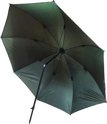 Fladen 2.2m 210T Tilting Umbrella with Adj Height & Tilt Mechanism