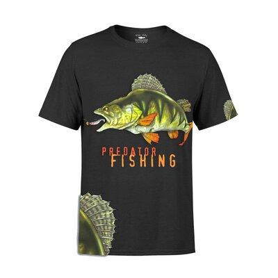 Fladen Greedy Perch Predator Fishing T-Shirt