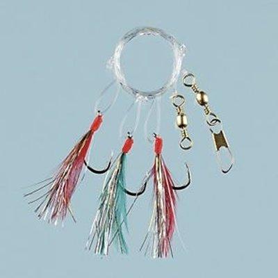 Fladen Multi Glitter Sea Rig - 3 Hook Size 2/0