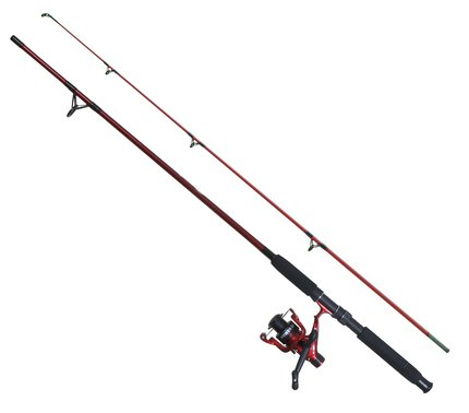 Fladen Power 130 Pre-Assembled Festival Combo Red