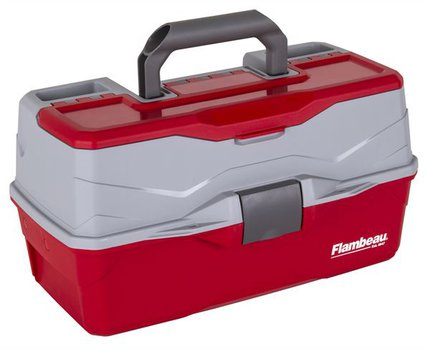 Flambeau 3-Tray Classic Box With Flip Lid