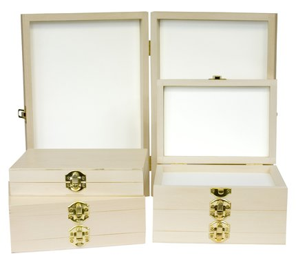 Stillwater Wooden Fly Boxes