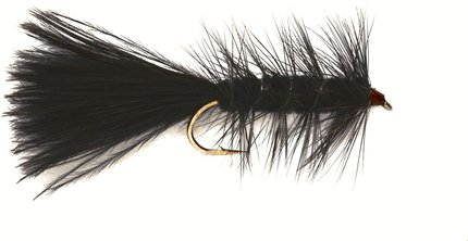 Fulling Mill Wooly Bugger Black Weighted