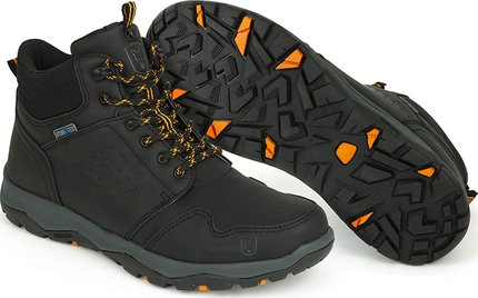 Fox Collection Black / Orange Mid Boot