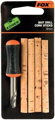 Fox Edges Bait Drill & Cork Sticks - 6mm
