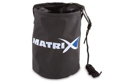 Fox Matrix Collapsible Water Bucket Inc Cord