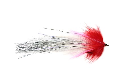 Fulling Whistler Pike Fly Red/White #4/0