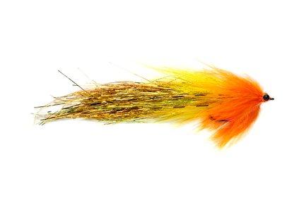 Fulling Whistler Pike Fly Yellow/Orange #4/0