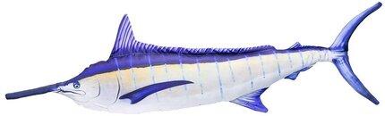 Gaby Blue Marlin Lit Up Pillow 118cm