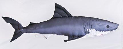 Gaby Great White Shark Pillow 120cm