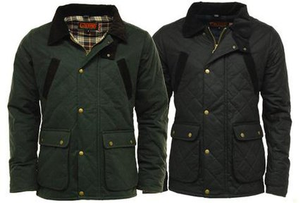 Game Oxford British Made Quilted Wax Jacket