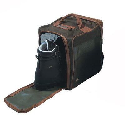 GMK Green / Brown Boot Bag