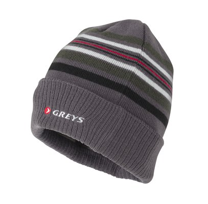 Greys Cotton Beanie - Striped