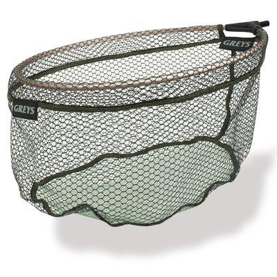Greys Prodigy Rubber Spoon Nets Dual mesh