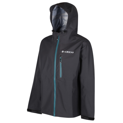 Greys Lightweight Breathable Wading Jacket Carbon
