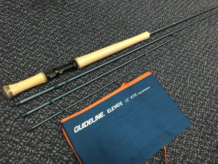 Preloved Guideline Elevate 12ft #7/8 4pc Salmon Fly Rod - As New