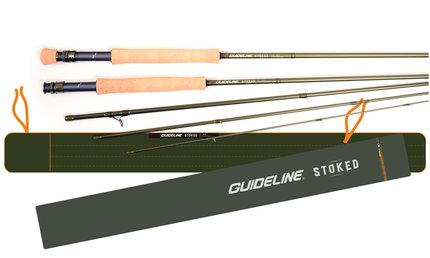 Guideline Stoked Single Hand 4pc Fly Rods