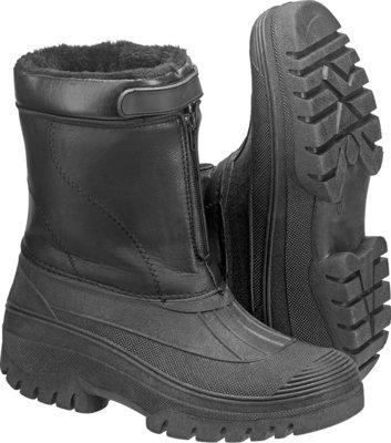 HARDWEAR Faux Leather Winter Boots
